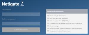 Set Password Box